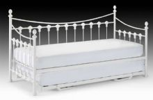Vernoux White Single Daybed With Guest Underbed